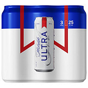 Michelob Ultra Light Beer 25 oz Cans