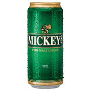 Mickeys Fine Malt Liquor 16 oz Cans