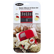 Microplane Garlic Mincing And Slicing Set
