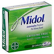 Midol Caffeine Free Caplets