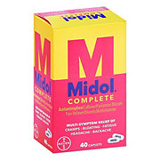 Midol Complete Maximum Strength Multi-Symptom Relief Caplets Value Size