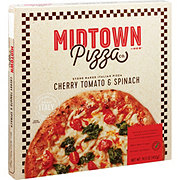 Midtown Pizza Co. by H-E-B Select Ingredients Cherry Tomatoes & Spinach Pizza
