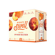 Mighty Swell Peach Spritzer 12 oz Cans
