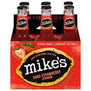 Mike's Hard Strawberry Lemonade 6 PK Bottles