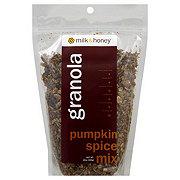 Milk & Honey Pumpkin Spice Mix Granola