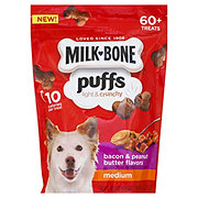Milk Bone Puffs Medium Bacon & Peanut Butter Treats