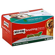MilkBone Brushing Chews Fresh Breath Large
