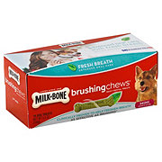 MilkBone Brushing Chews Fresh Breath Mini