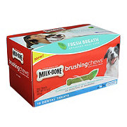 MilkBone Brushing Chews Fresh Breath Small/Medium