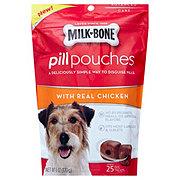 MilkBone Dog Treat Pill Pouch Chicken Flavor