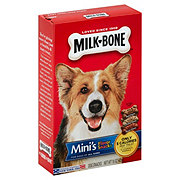 MilkBone Mini's Flavor Dog Snacks, Beef Chicken Bacon