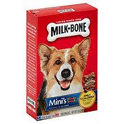 MilkBone Mini's Flavor Dog Snacks, Beef Chicken Bacon Flavor
