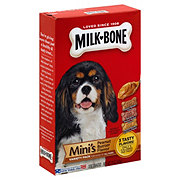 MilkBone Mini's Peanut Butter Flavor Dog Biscuits Variety Pack