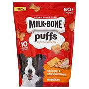 MilkBone Puffs Medium Chicken & Cheddar Dog Treats