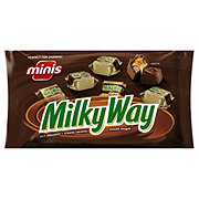 Milky Way Milk Chocolate Minis Size Candy Bars Bag