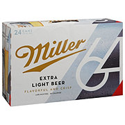 Miller 64 Beer 12 oz Cans (Limit 2)