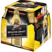 Miller Genuine Draft Beer 16 oz Aluminum Bottles
