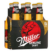 Miller Genuine Draft Lager Beer 12 oz Bottles