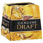 Miller Genuine Draft Lager Beer 12 oz Bottles