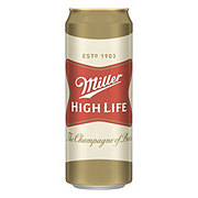 Miller High Life Beer Can