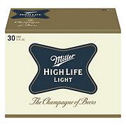 Miller High Life Light Beer 30 PK Cans