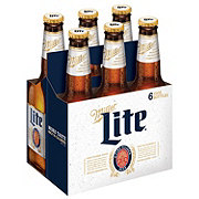Miller Lite Beer 12 oz Bottles