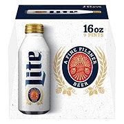 Miller Lite Beer 16 oz Aluminum Bottles