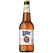 Miller Lite Beer Bottle