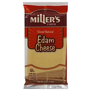 Miller's Cheese Sliced Natural Edam Cheese