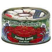 Miller's Select Jumbo Lump Crab Meat