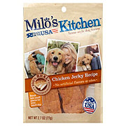 Milo's Kitchen Chicken Jerky Strips Dog Treats