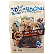 Milo's Kitchen Steak Grillers Beef With Angus Steak Home Style Dog Treats
