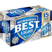 Milwaukee's Best Light Beer 12 oz Cans
