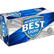 Milwaukee's Best Light Beer 18 PK Cans