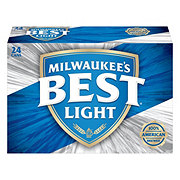 Milwaukee's Best Light Beer 24 PK Cans