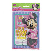 minnie mouse invitation thank you note combo shop minnie mouse