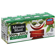 Minute Maid 100% Apple Juice 10 PK