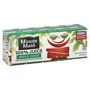 Minute Maid Apple Juice 100% Juice 6 oz Boxes
