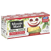 Minute Maid Fruit Punch 100% Juice 10 PK