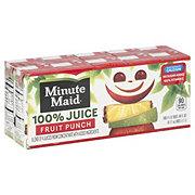 Minute Maid Fruit Punch 100% Juice 10 PK