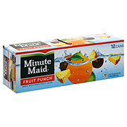 Minute Maid Fruit Punch 12 oz Cans