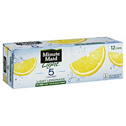 Minute Maid Light Lemonade 12 oz Cans