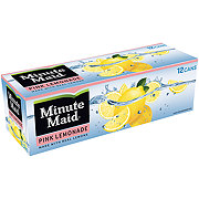 Minute Maid Pink Lemonade 12 oz Cans