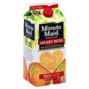 Minute Maid Premium Heartwise Enhanced Pulp Free 100% Orange Juice