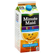 Minute Maid Premium Kids+ Pulp Free 100% Orange Juice