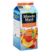 Minute Maid Premium Peach Flavored Fruit Drink