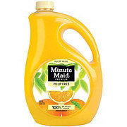 Minute Maid Premium Pulp Free Orange Juice