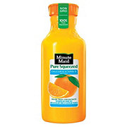 Minute Maid Pure Squeezed Calcium and Vitamin D No Pulp 100% Orange Juice