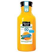 Minute Maid Pure Squeezed Light Low Pulp Orange Juice Beverage