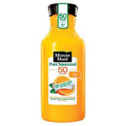 Minute Maid Pure Squeezed Light No Pulp Orange Juice
